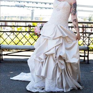 Maggie Sottero Wedding Dress Sz 6